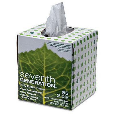Seventh Generation Facial Tissue