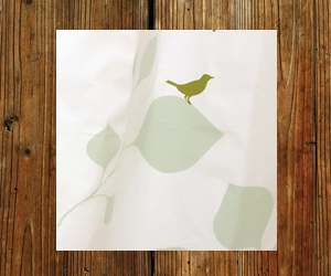 Rock Candy's Whimsical Birds Shower Curtain