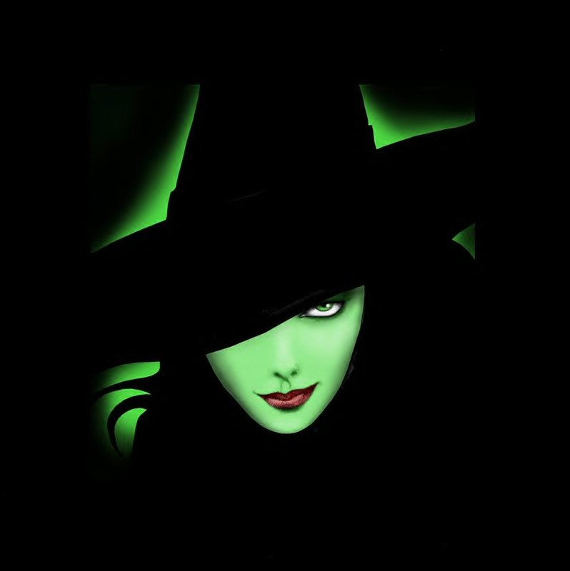 Halloween-Green-Witch-Wallpapers
