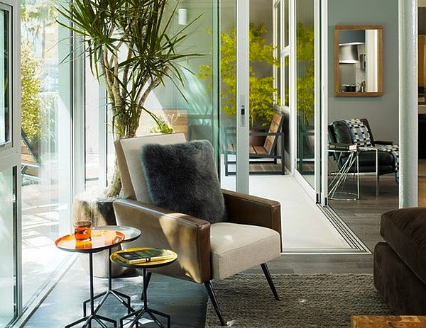 Contemporary Indoor House Plants Ideas In Corner Window Seating