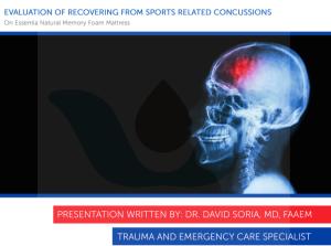 Dr Soria Concussion Essentia