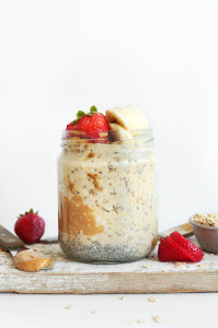 Minimalist Baker - Peanut Butter Overnight Oats