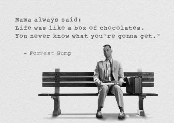 Forrest Gump-Chocolates